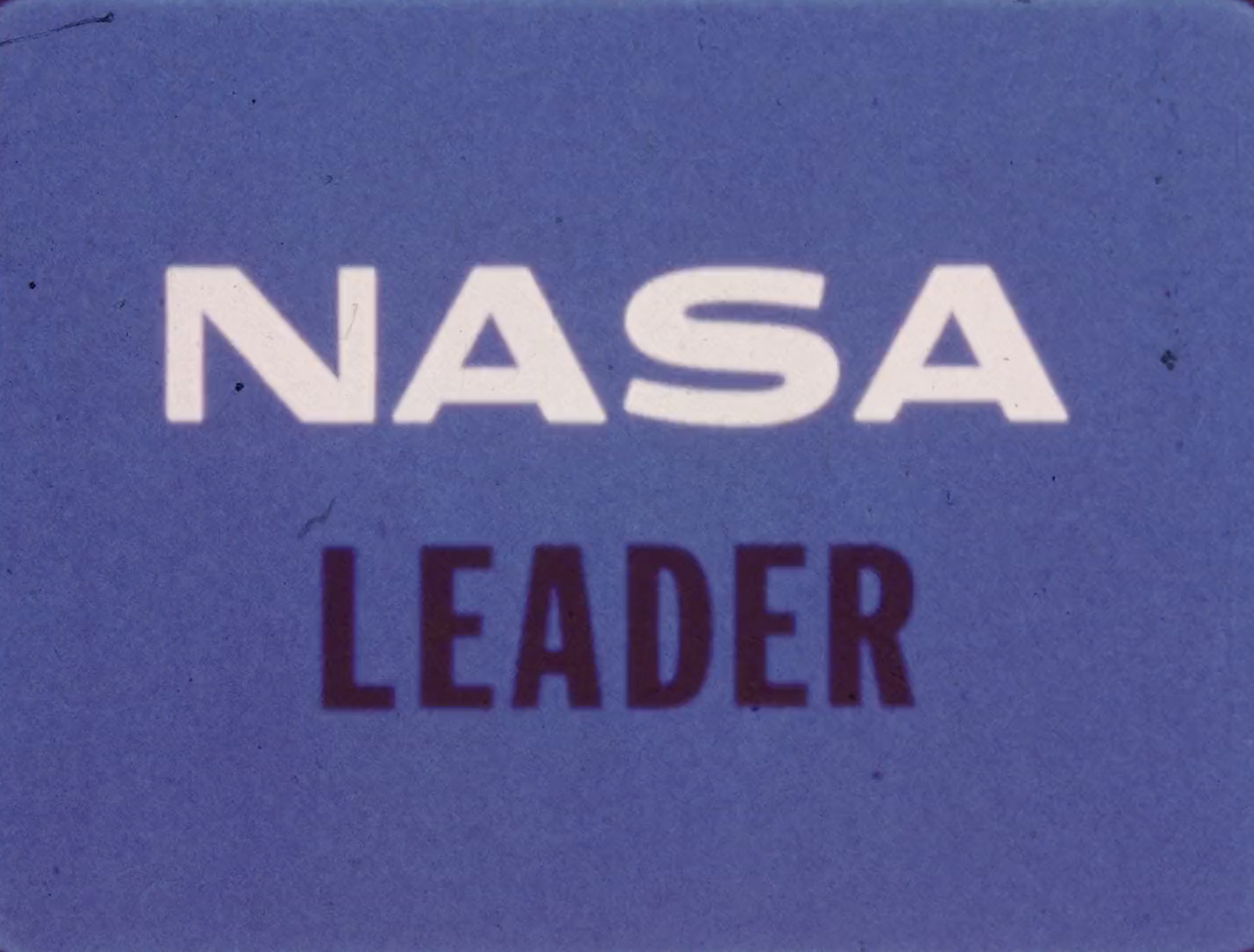 NASA Film Leader | Lost Leaders: Countdowns and the ...